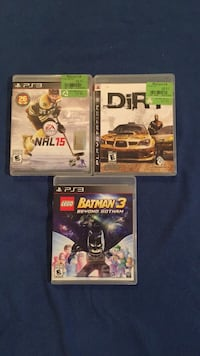 3 PS games new for 15$ Montréal, H4A 2E7