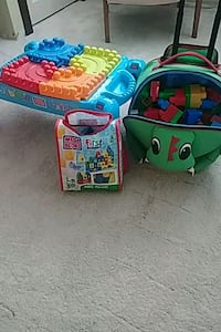 Duplo Building table/ Travel Bags if Duplo 600 km