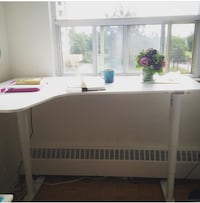 White Ikea electronic sit-to-stand desk *$700 new* Toronto