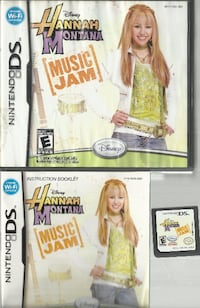 DS Hanna Montana Music Jam Hannah Montana Music Jam Nintendo DS 2DS 3DS Game Game - case - and manual ++++++++++++++++++++++++++++++++ Pick-up in Newmarket