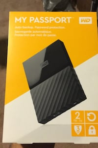 Brand New WD My Passport 2TB