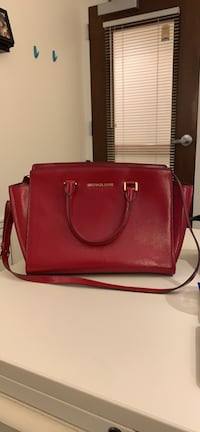Michael Kors Tote- Red Patent Leather Ashburn, 20147