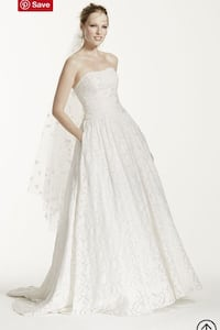 Lace wedding dress with pockets Calgary, T2A