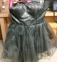 Puffy Black Dress (Size Junior XL) Baltimore, 21207