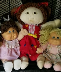 3 Cabbage Patch Kids dolls . 1 is original.. Columbus