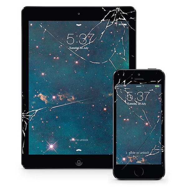 iPad and iPhone Br0k€n Screen best price