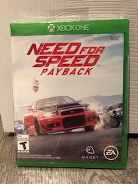 Need for speed payback Xbox one Edmonton, T5T 6V3