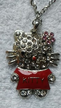 silver-colored Hello Kitty Necklace Knoxville, 37920