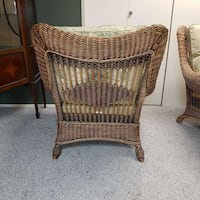 Rattan armchairs handmade beautiful pair Abbotsford, V2S 7Y8