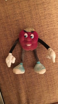 California Raisin 1988 Poseable Bendable Doll Annandale, 22003