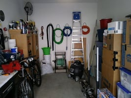 Moving, Garage Full of Tools