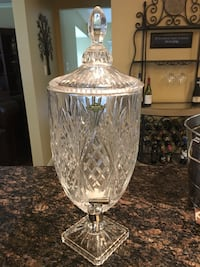 Crystal Beverage Dispenser
