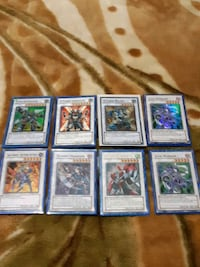 Rare shiny Yugioh cards mint!