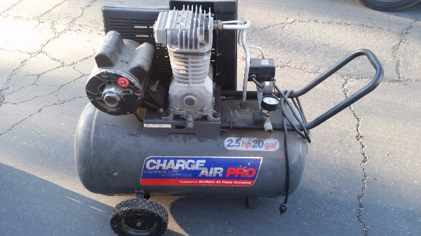 used devilbliss charge air pro air compressor 2 5 hp 20 for sale in