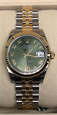 ROLEX Ladies Datejust Two-Tone Jubilee and Green Dial NEW!  Costa Mesa, 92627