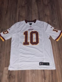 white and red NFL jersey shirt Woodbridge, 22192
