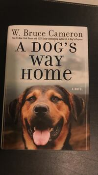A Dog's Way Home by W. Bruce Cameron book San Juan, 00926