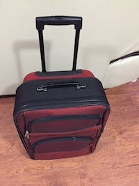 Black and red luggage bag/suitcase Toronto, M1J 3K2