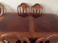 Beautiful Cherry wood table with chairs Melbourne, 32903