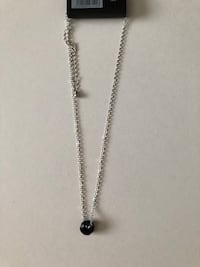 Chain and black pendant
