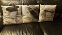 Accent pillow cushions