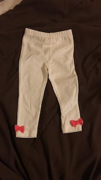 White and pink floral pants-18m El Paso, 79924