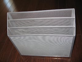 Wire Mesh Three-Tier Organizer
