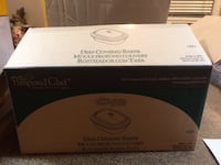 New in box Pampered Chef stoneware casserole dish.  Firm in price South Weber, 84405