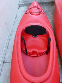 pink and black inflatable boat Alameda