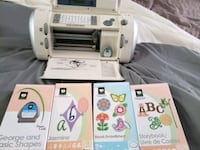 Cricut, 4 cartridges, and two mats Warwick, 02889