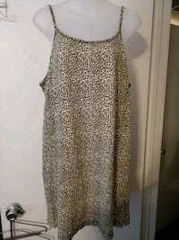 Thick Cotton animal print gown