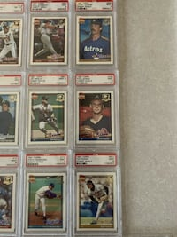 Topps Desert Shield PSA Cards lot