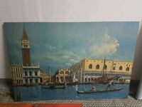 Oil painting of Venice Mississauga, L5L 1N4