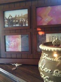 Country charm photo frame and wax melt night light  Butler
