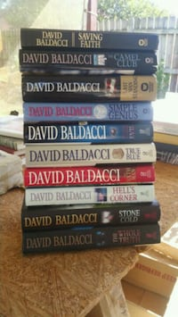 David Baldacci hardback books Arlington, 76016