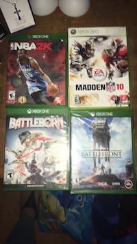 four Xbox One game cases Spring Hill, 34608
