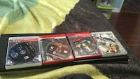 four ps3 games Brampton, L6V 2W5