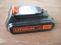 BLACK DECKER Leaf Blower And Weed Wacker With Lithium Battery And Charger Dornsife