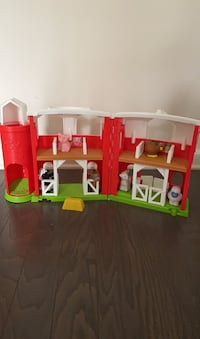 Little People Barn with animals Chelsea, 35043