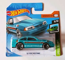 '92 Ford Mustang Hot Wheels