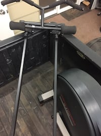 black and gray automatic treadmill Leesburg, 20176