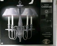 Hampton Bay Five Light Chandelier  Troy, 12180