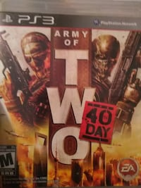 Sony PS3 Army of Two case San Angelo, 76904