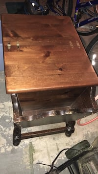 Ethan Allen end table (bread box) Germantown, 20876