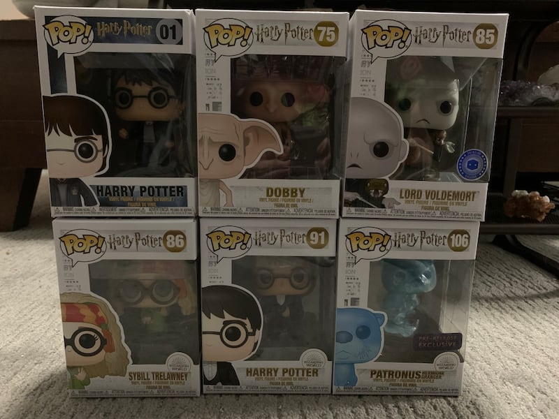 Harry Potter Wizarding World Funko Pops fed19144-4770-4419-99ac-135e64980eac