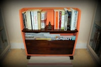 1950's Vintage Magazine Rack - Rustic, Farmhouse, Upcycled Furniture Greater London
