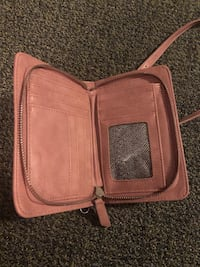 Pink leather crossbody bag  Silver Spring, 20901