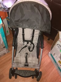 Baby's gray and black stroller Spring Valley, 91977