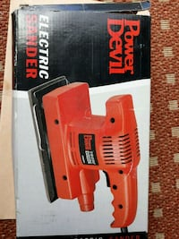 Electronic sander power tool Greater London, TW3
