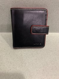 Lodis - Black and Red Bi-fold wallet MONTGOMRY VLG, 20879